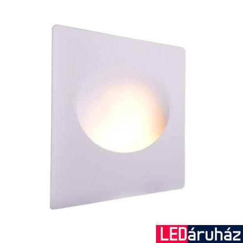 Fali gipsz süllyesztett festhető lámpatest – ovális megvilágítás, 210×250 mm - MR16, GU10 LED fényforrásokhoz
