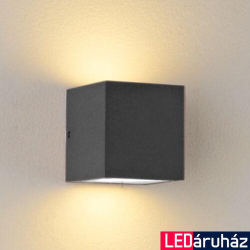 Kültéri, 2 irányú falra szerelhető lámpa 2xGX53 foglalat, sötétszürke