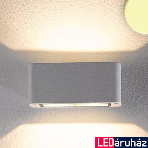 2 irányban világító LED fali lámpa fehér színben – 4×3W CREE melegfehér LED