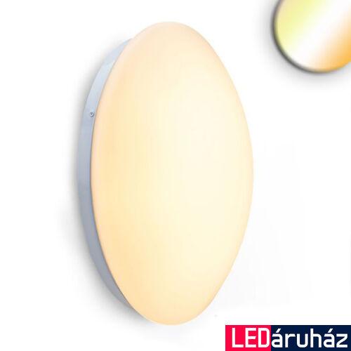 WhiteSwitch mennyezeti/fali LED lámpa, 1240 lm, 18W, változtatható színhőmérséklet (2700K/3000K/4000K), fehér
