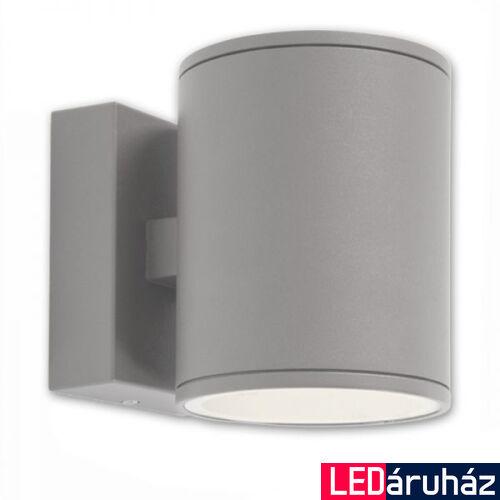 Kültéri, 2 irányú falra szerelhető lámpa 2xGX53 foglalat, szürke