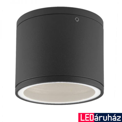 Beltéri mennyezetre lámpatest, szerelhető IP54, GX53 lámpatest, max. 11W, sötétszürke, 120°
