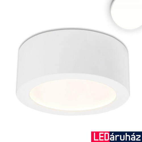 LUNA mennyezeti lámpa indirekt fénnyel, 350 lm, 8W, 4000 K természetes fehér