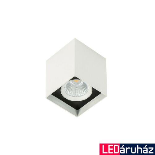 ITALUX ALDEN WHITE BLACK 3000K mennyezeti lámpa fehér, 3000K melegfehér, beépített LED, 1010 lm, IT-SLC78002/12W 3000K WH+BL