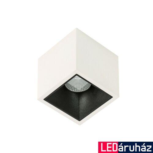 ITALUX ALDEN WHITE BLACK DEEP 3000K mennyezeti lámpa fehér, 3000K melegfehér, beépített LED, 1410 lm, IT-SLC78001/18W 3000K WH+BL