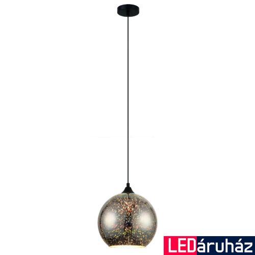 ITALUX ANDROMEDA 3D 1 ágú függeszték fekete, E27, IT-MDM-3069/1A CR