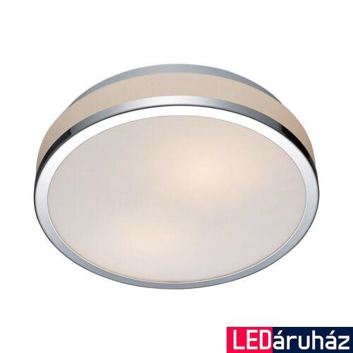 ITALUX CAMRY kültéri mennyezeti lámpa 2 foglalattal, króm, E27, IT-5007-M