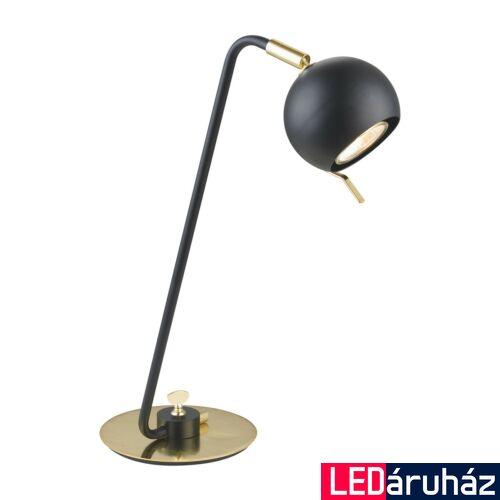 ITALUX CHARISSA asztali lámpa fekete, GU10, IT-MT-H16049TLK-1-B