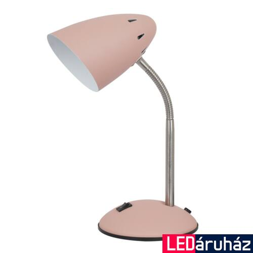 ITALUX COSMIC asztali lámpa króm, E27, IT-MT-HN2013-PINK+S.NICK