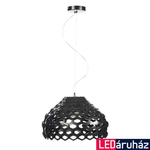 ITALUX DONNA 1 ágú függeszték fekete, E27, IT-MD12092-1A BL
