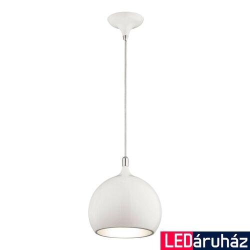 ITALUX FLASK 1 ágú függeszték fehér, E27, IT-MA03586CA-001 WHITE