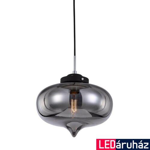 ITALUX HEART 1 ágú függeszték fekete, E27, IT-MDM2096/1 A
