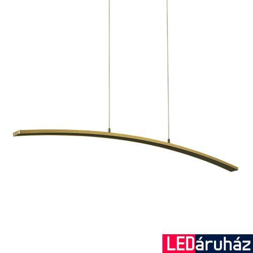 ITALUX MELODIE 1 ágú függeszték bronz, 3000K melegfehér, beépített LED, 1680 lm, IT-ZWD-0018-04H BB