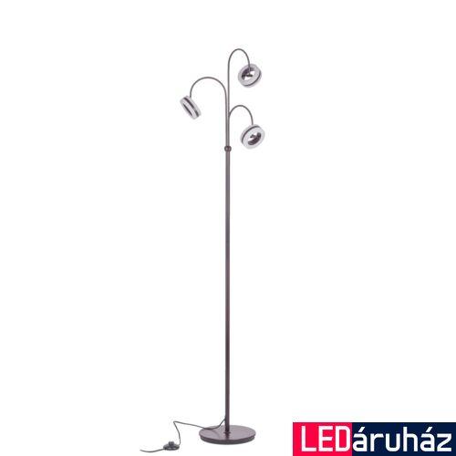 ITALUX METIS állólámpa barna, 3000K melegfehér, beépített LED, 1100 lm, IT-AL16002-3A COFFEE