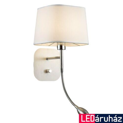 ITALUX MITO fali lámpa fehér, E27, IT-MA04581W-002-01