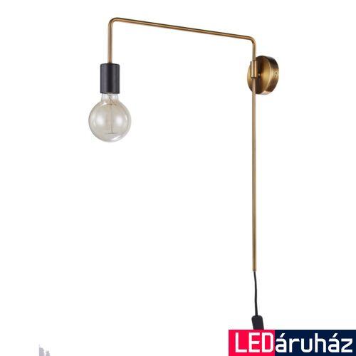 ITALUX MONIQ fali lámpa arany, E27, IT-MB-BR1721402-W1-G