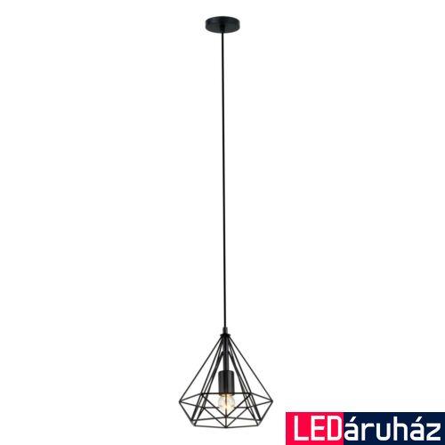 ITALUX NATAL 1 ágú függeszték fekete, E27, IT-MDM-2550/1S BK