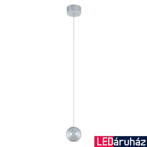 ITALUX NEUTRON 1 ágú függeszték króm, 3000K melegfehér, beépített LED, 320 lm, IT-AD13012-1S CH
