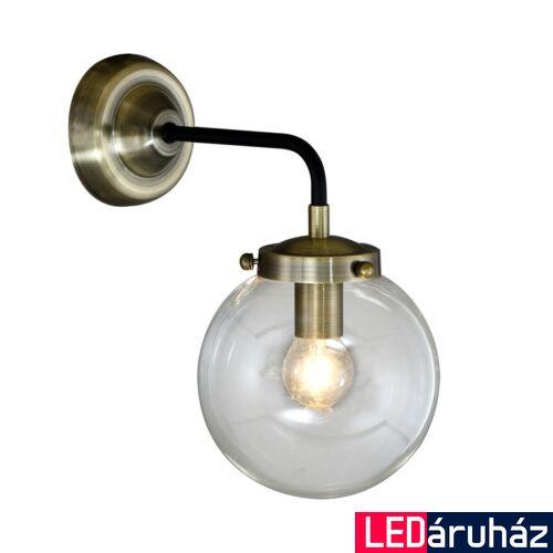 ITALUX ODELIA fali lámpa antikolt, E14, IT-MB1009-1