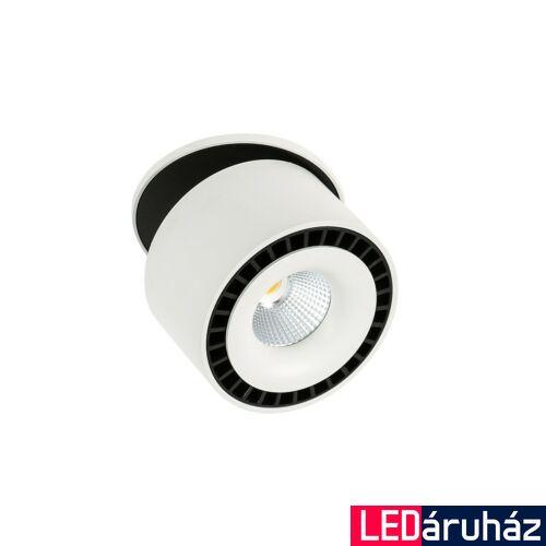 ITALUX SEVILLA ROUND RECESSED 4000K beépíthető lámpa fehér, 4000K természetes fehér, beépített LED, 2350 lm, IT-SL7560/28W 4000K WH+BL