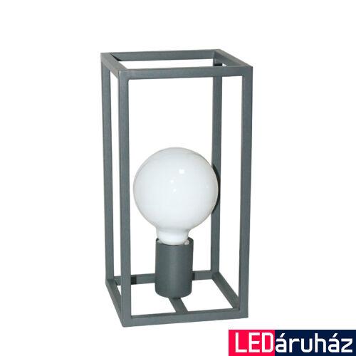 ITALUX SIGALO asztali lámpa szürke, E27, IT-MT-BR4366-T1 GR