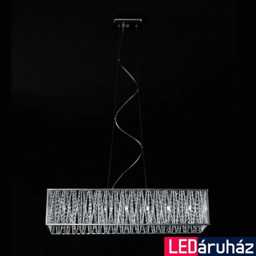 ITALUX VANESSA 1 ágú függeszték 7 foglalattal, ezüst, G9, IT-P0282-07L-F4QL
