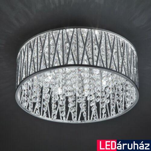 ITALUX VANESSA mennyezeti lámpa 6 foglalattal, ezüst, G9, IT-C0282-06R-B5QL