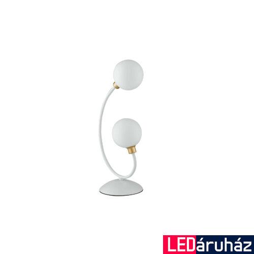 LUCE DESIGN AIDA asztali lámpa, fehér, I-AIDA-L2