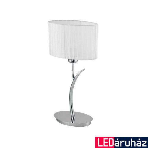 LUCE DESIGN DELUXE asztali lámpa, króm, I-DELUXE/L