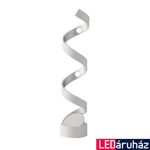 LUCE DESIGN HELIX asztali lámpa, ezüst, 4000K természetes fehér, beépített LED, 960 lm, LED-HELIX-L4 BCO