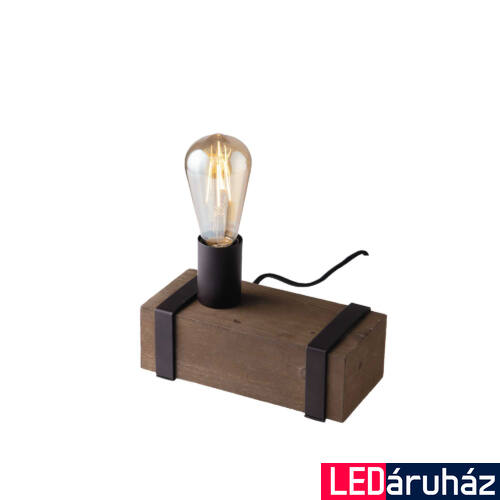 LUCE DESIGN TEXAS asztali lámpa, fa, I-TEXAS-L1