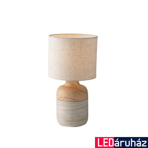 LUCE DESIGN WOODY asztali lámpa, fa, I-WOODY-XL