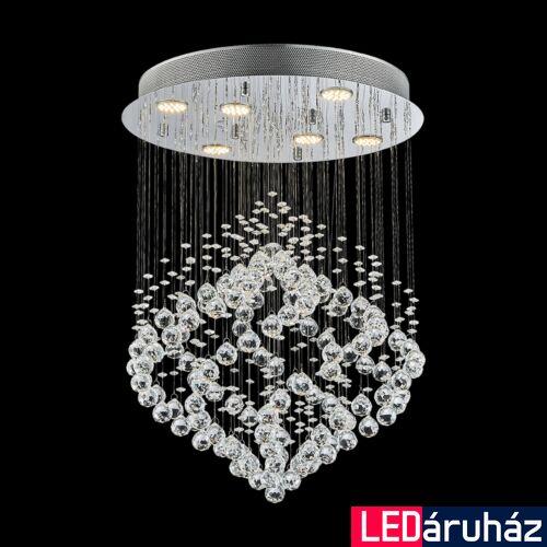 LUXERA CHESTER mennyezeti lámpa 6 foglalattal, króm, GU10, 62412