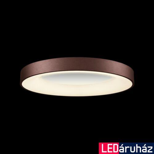 LUXERA GENTIS mennyezeti lámpa barna, 4000K természetes fehér, beépített LED, 3000 lm, 18401
