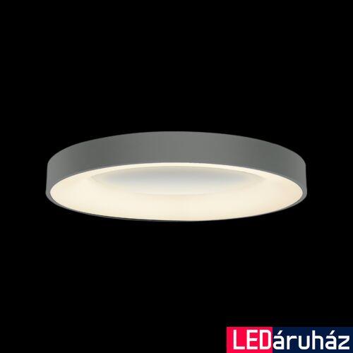 LUXERA GENTIS mennyezeti lámpa szürke, 4000K természetes fehér, beépített LED, 3000 lm, 18400