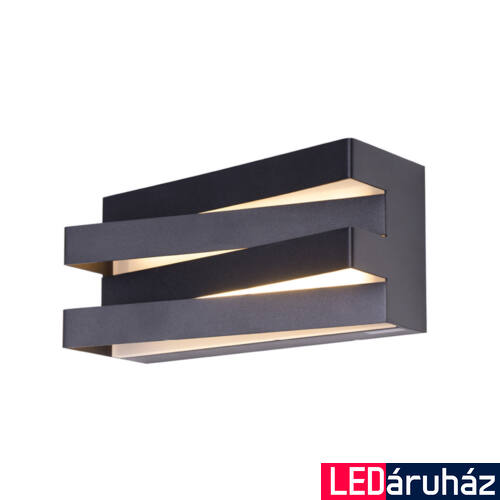 Maxlight ARAXA fali lámpa, fekete, 3000K melegfehér, beépített LED, 600 lm, 24x0,5W, MAXLIGHT-W0178