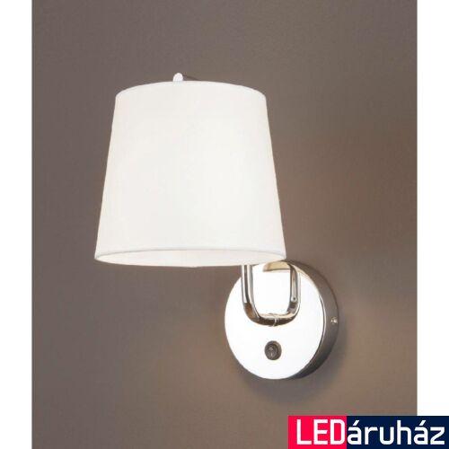 Maxlight CHICAGO fali lámpa, króm, E27 foglalattal, 1x40W, MAXLIGHT-W0195