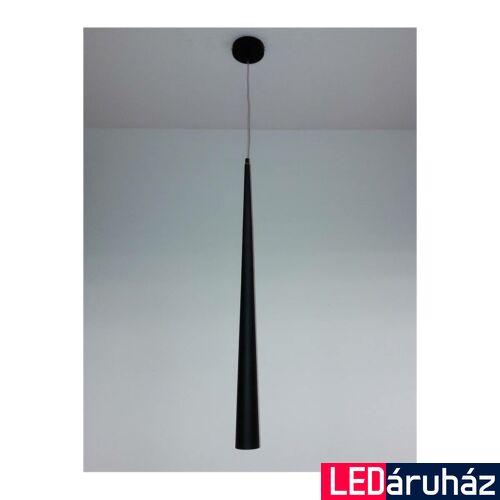 MAXLIGHT SLIM 1 ágú függeszték fekete, GU10, MAXLIGHT-P0002