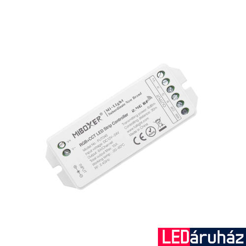 Mi-Light FUT045 RGB+CCT LED vevőegység, 15A, 12-24V DC