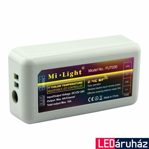 Mi-Light FUT035 CCT (WW+CW) LED vezérlő, 12V-24V DC