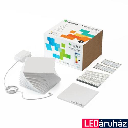Nanoleaf Canvas Smarter Kit 17 paneles kezdőcsomag