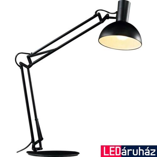 NORDLUX Arki asztali lámpa, fekete, E27, max 60W, 20cm átmérő, 75145003