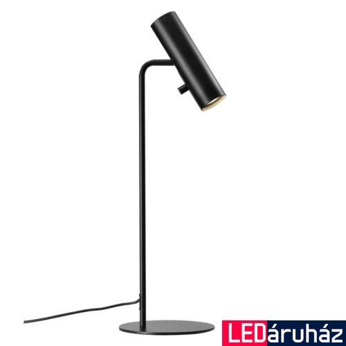 NORDLUX MIB 6 asztali lámpa, fekete, GU10, max 8W, 6cm átmérő, 71655003
