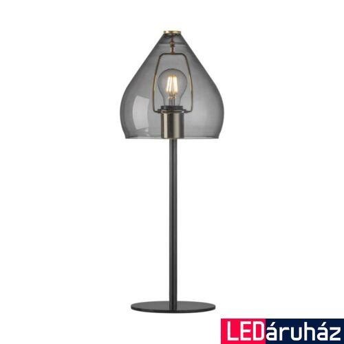 NORDLUX Sence asztali lámpa, szürke, E27, max 40W, 21cm átmérő, 46125047