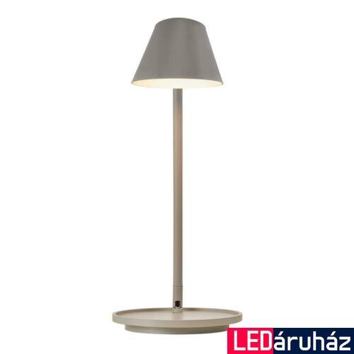 NORDLUX Stay asztali lámpa, szürke, 2700K melegfehér, beépített LED, 14,5W , 700 lm, 14.5cm átmérő, 48185010