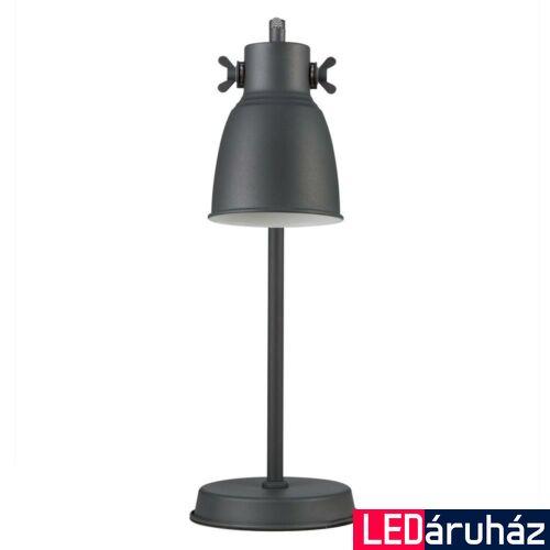 NORDLUX Adrian asztali lámpa, fekete, E27, max 25W, 12.5cm átmérő, 48815003