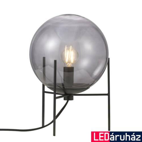 NORDLUX Alton asztali lámpa, fekete, E14, max 15W, 20cm átmérő, 47645047