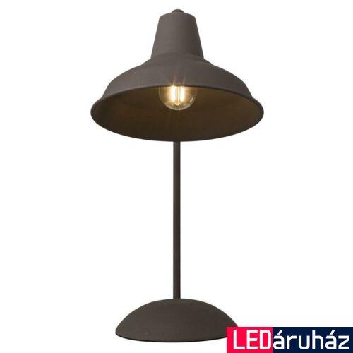 NORDLUX Andy asztali lámpa, barna, E14, max 15W, 20cm átmérő, 48485009