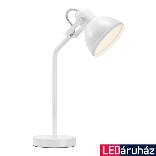 NORDLUX Aslak asztali lámpa, fehér, E27, max 15W, 15cm átmérő, 46685001