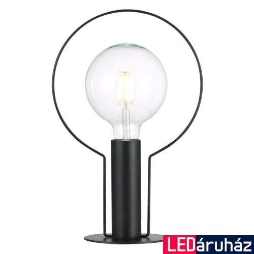 NORDLUX Dean Halo asztali lámpa, fekete, E27, max 60W, 46615003